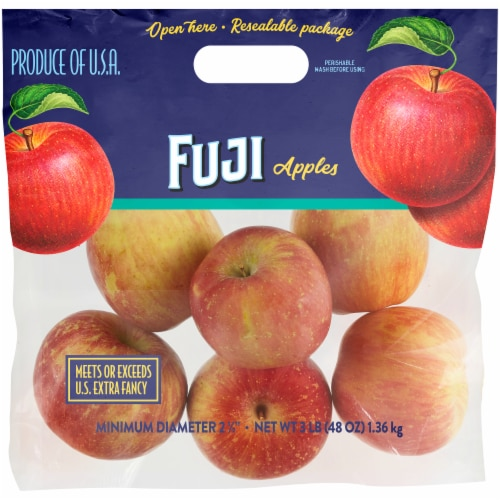 Kroger® Fuji Apples Pouch Perspective: front