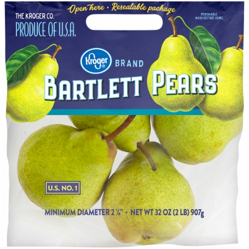 Kroger® Bartlett Pears Pouch Perspective: front