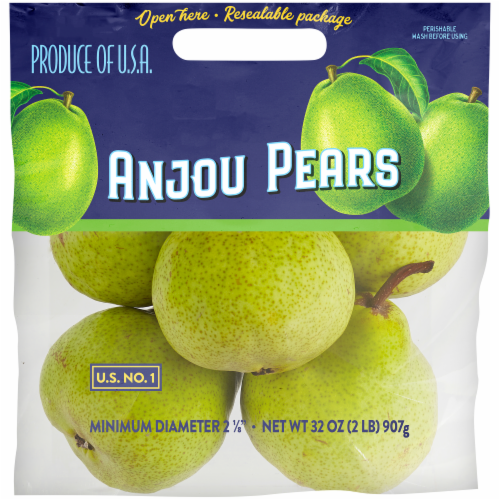 Kroger® Anjou Pears Pouch Perspective: front