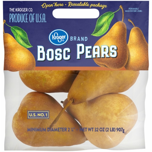 Kroger® Bosc Pears Pouch Perspective: front