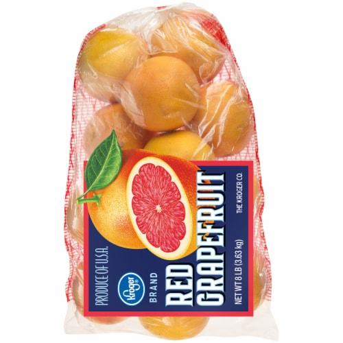 Kroger® Red Grapefruit Bag Perspective: front