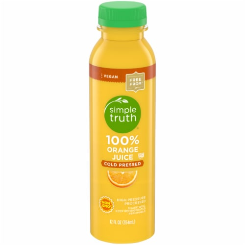 Simple Truth™ 100% Orange Juice Cold Pressed Perspective: front