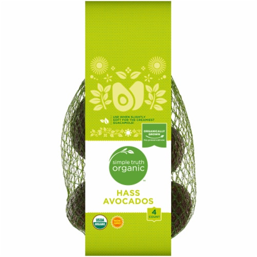 Simple Truth Organic™ Hass Avocados Perspective: front