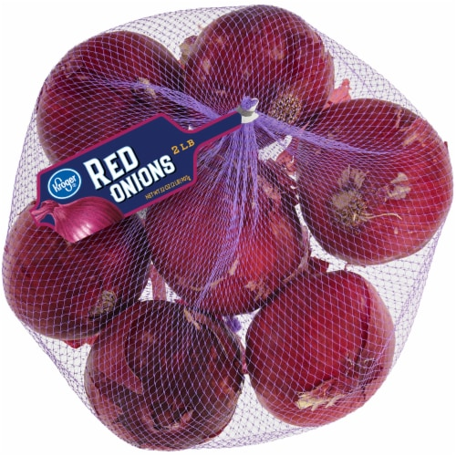 Kroger™ Red Onions Perspective: front