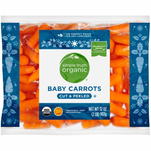 Simple Truth Organic® Baby Carrots Perspective: front