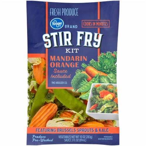 Kroger® Stir Fry Mandarin Orange Kit Perspective: front