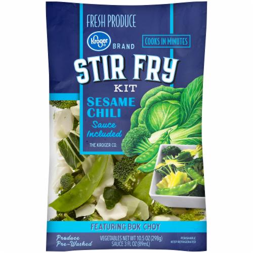 Kroger® Sesame Chili Stir Fry Kit Perspective: front