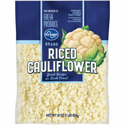 Kroger® Riced Cauliflower Perspective: front