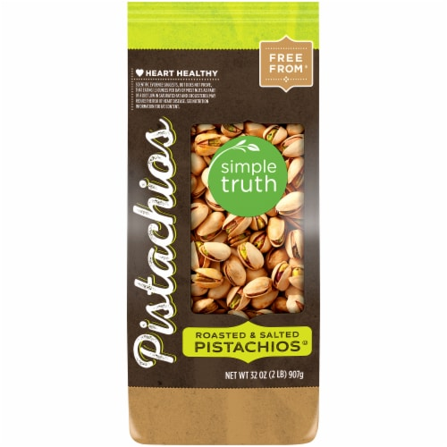 Simple Truth™ Roasted & Salted Pistachios Perspective: front