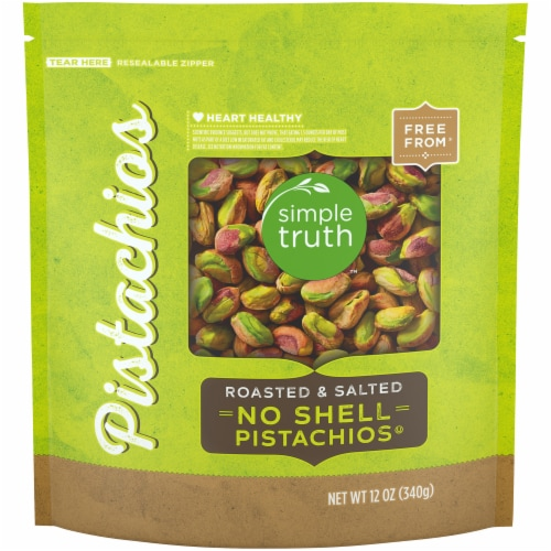 Simple Truth™ Roasted & Salted No Shell Pistachios Perspective: front