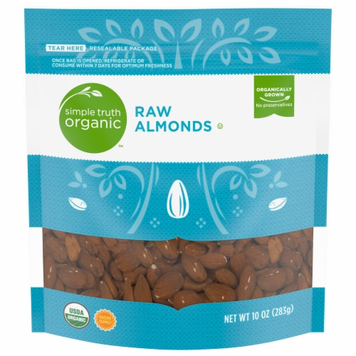 Simple Truth Organic™ Raw Almonds Perspective: front