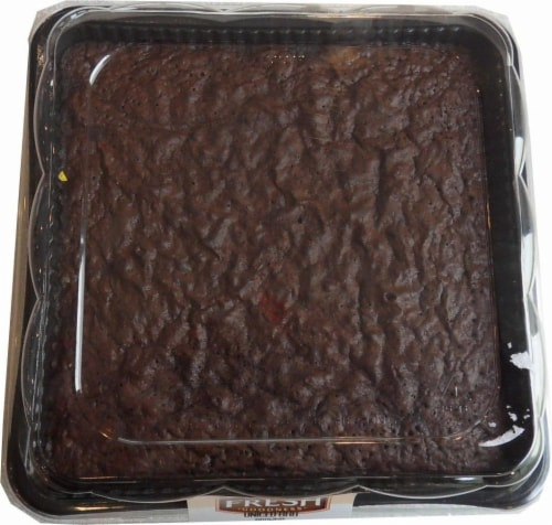 Bakery Fresh Goodness Uniced Brownie Perspective: front
