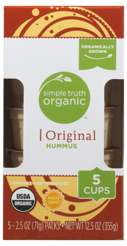 Simple Truth Organic™ Original Hummus Cups Perspective: front