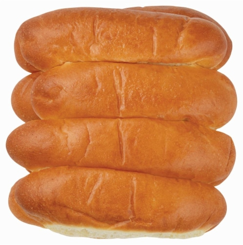 Bakery Fresh Goodness Hot Dog Buns Perspective: front