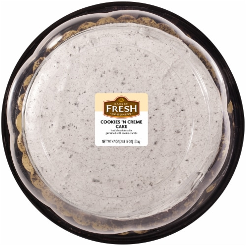 Kroger Bakery Fresh Goodness Cookies N Creme Double Layer Cake
