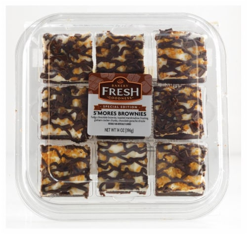 Kroger Bakery Fresh Goodness Smores Brownies