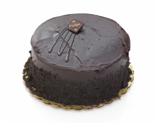Bakery Fresh Goodness Chocolate Fudge Double Layer Cake Perspective: front