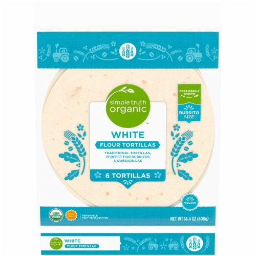 Simple Truth Organic™ White Flour Tortillas Perspective: front