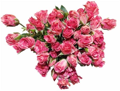 BLOOM HAUS Pink Rose Boquet Perspective: front
