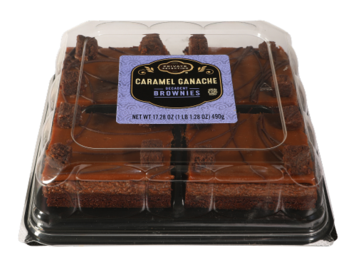 Private Selection® Caramel Ganache Brownie Squares Perspective: front