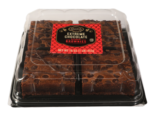 Private Selection® Extreme Chocolate Brownie Squares Perspective: front