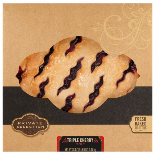 Private Selection™ Triple Cherry Pie Perspective: front