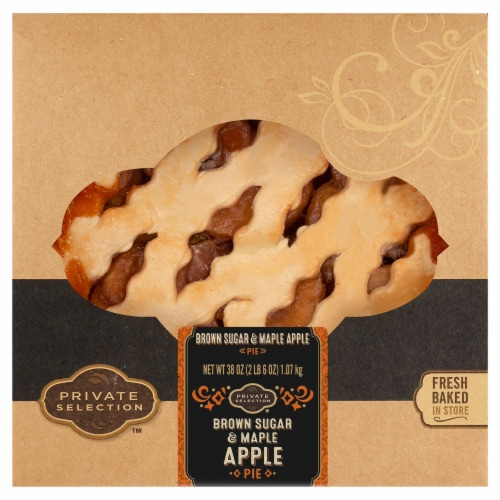 Private Selection™ Brown Sugar and Maple Apple Pie Perspective: front