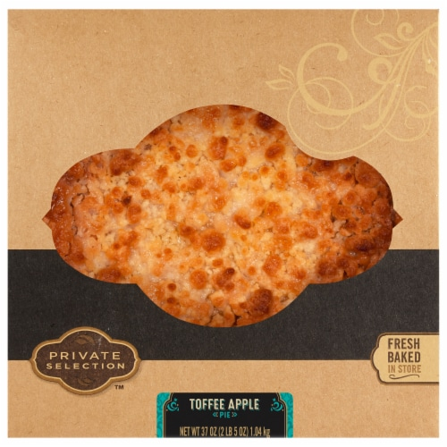 Private Selection™ Toffee Apple Streusel Pie Perspective: front