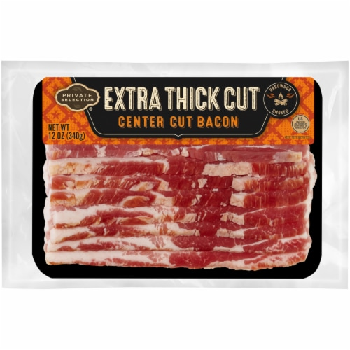 Private Selection® Extra Thick Center Cut Bacon Perspective: front