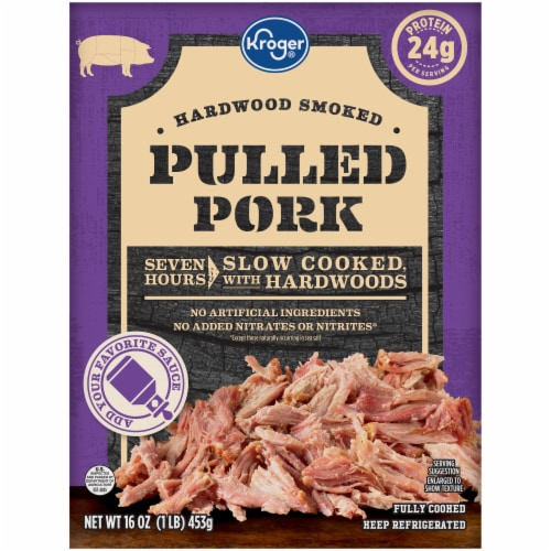 Kroger® Hardwood Smoked Pulled Pork Perspective: front
