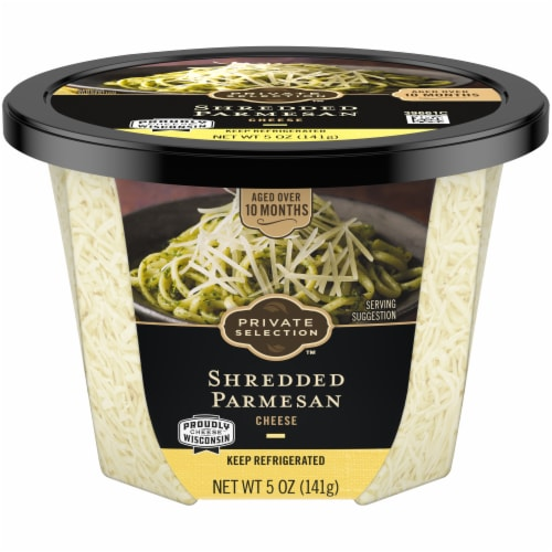 Private Selection™ Shredded Parmesan Cheese Perspective: front