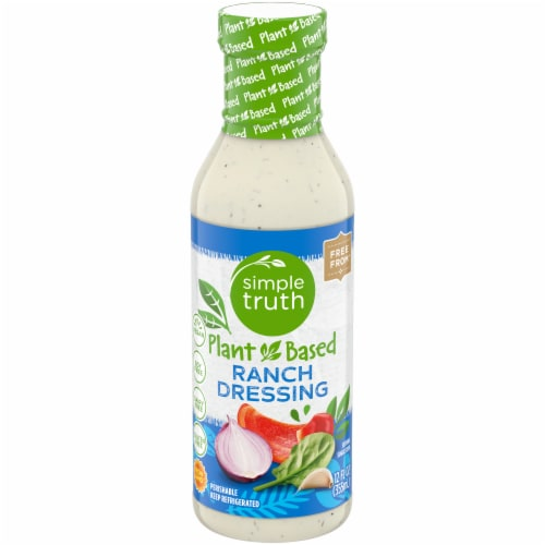 Simple Truth Plant Based Gluten Free Ranch Dressing Perspective: front
