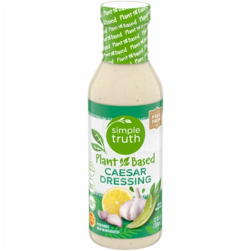 Simple Truth Plant Based Gluten Free Caesar Dressing Perspective: front