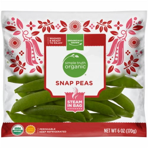 Simple Truth Organic® Snap Peas Perspective: front