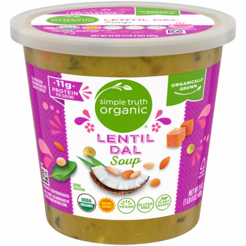 Simple Truth Organic® Lentil Dal Soup Perspective: front