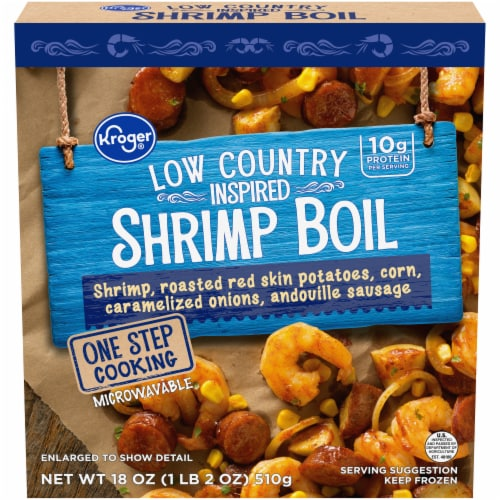 Kroger Low Country Style Shrimp Boil Perspective: front