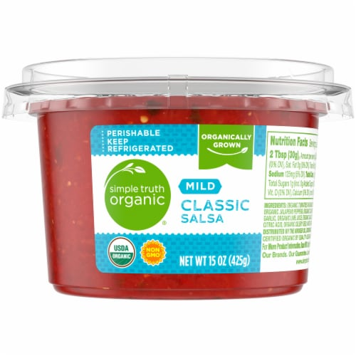 Simple Truth Organic Classic Mild Salsa Perspective: front