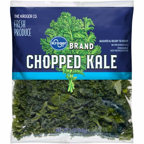 Kroger Chopped Kale Perspective: front