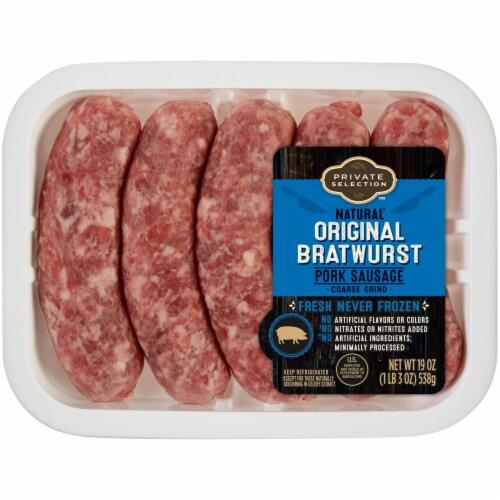 Private Selection™ Original Bratwurst Pork Sausage Perspective: front