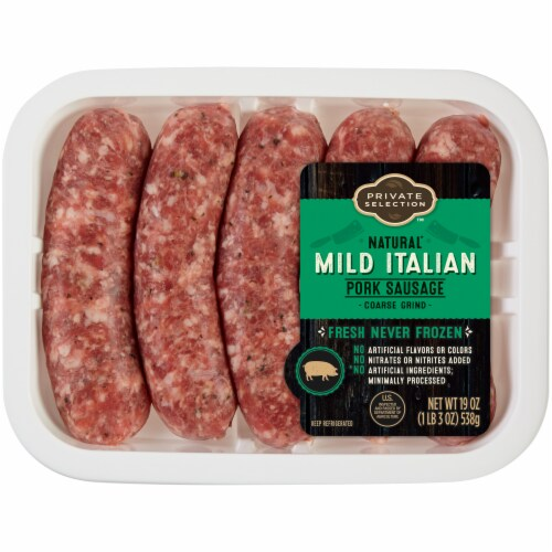 Private Selection™ Mild Italian Pork Sausage Perspective: front