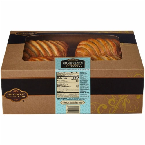 Private Selection® Chocolate Filled Croissants Perspective: front