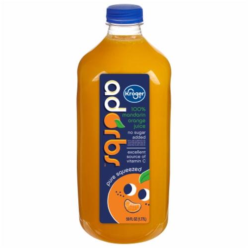 Kroger® Adorbs™ Mandarin Orange Juice Perspective: front