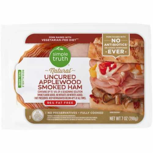 Simple Truth® Natural Uncured Applewood Smoked Ham Perspective: front
