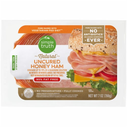 Simple Truth® Natural Uncured Honey Ham Perspective: front