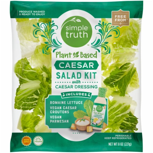 Simple Truth™ Plant Based Caesar Salad Kit Perspective: front