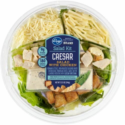 Kroger® Chicken Caesar Salad Kit Perspective: front