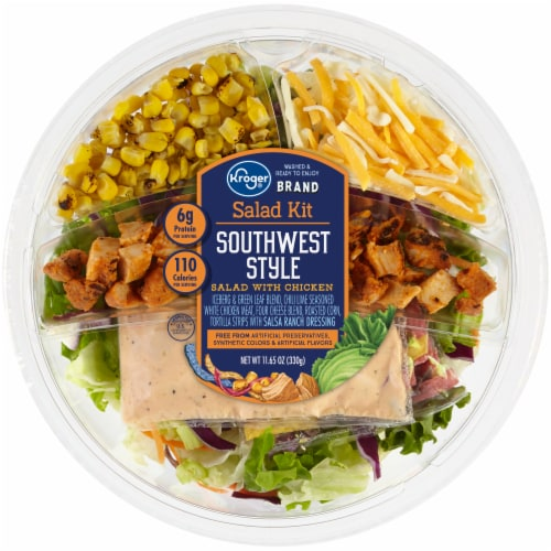 Kroger® Southwest Style Salad Kit Perspective: front