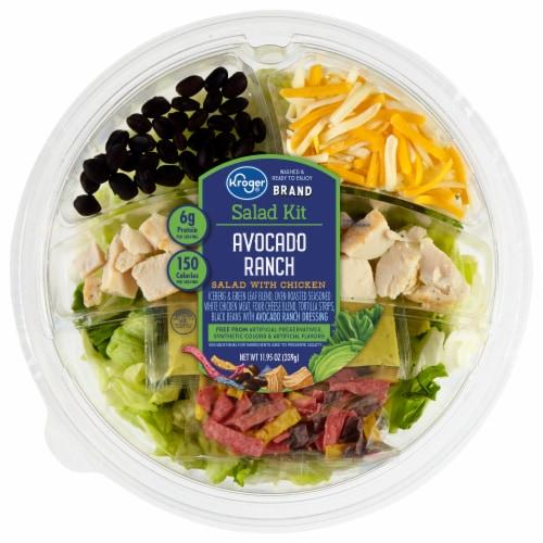 Kroger® Avocado Ranch Salad Kit Perspective: front
