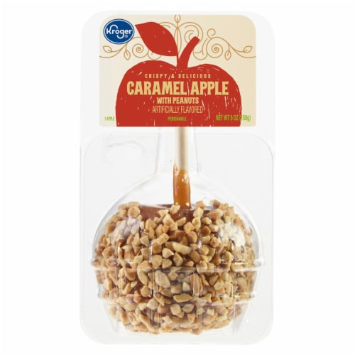Kroger® Caramel Apple with Peanuts Perspective: front