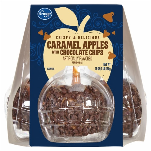 Kroger® Caramel Apples with Chocolate Chips Perspective: front